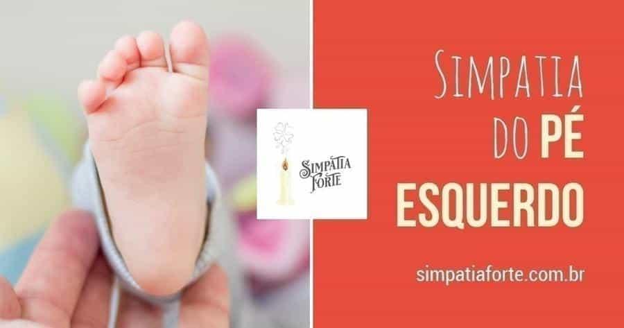 Sola do pé de um bebê